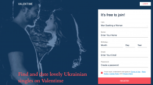 Valentime Registration